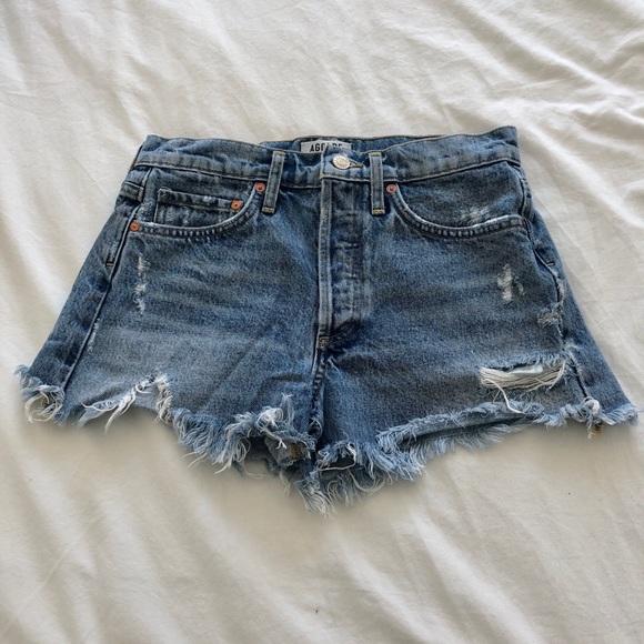 Agolde Denim Shorts Size 25